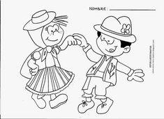 8 fichas para colorear con motivo de la celebración del día de canarias. Ideal para cualquier ciclo de educación primaria. ... Blooms Taxonomy, Smurfs, Disney Characters, Fictional Characters, Butterfly, Comics, Crafts, Control, Sexy