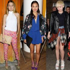 Here's our pick of this week's best dressed celebrities. Gigi Hadid, Jamie Chung and Miley Cyrus sport very different looks but ooze effortless style x #bestdressed #celebrity #fashion #style #trend #hiddenfashion