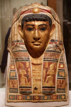 The Mummy Mask of a Man