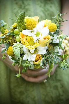 Lauren's Outdoor Northern California Wedding with Herbs and Birds! - Inspired By This