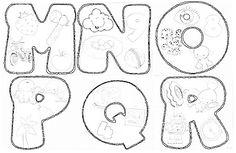 Ateliê Mundo da Lua!: Alfabeto ilustrado - molde