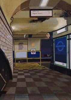 By James Mackinnon Camden Town, Broadway Shows, Tube, Artist, Artists
