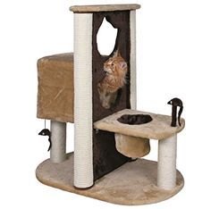 Cat Scratching Post Tree Condo Pet Furniture With Sisal Rope – Great For Climbing, Playing, Climbing and Relaxing In The Kitty Pad Area -- Check this awesome product by going to the link at the image. (This is an affiliate link and I receive a commission for the sales)
