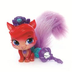 "Disney Princess Palace Pets Furry Tail Friends - Treasure (Ariel's Kitty) -  Blip Toys - Toys""R""Us"