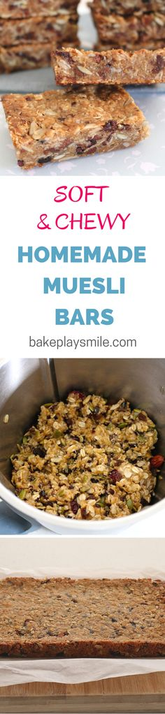These are the best muesli bars I've ever made! They're so easy and perfect for my mid-afternoon treat.