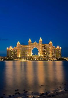 Dubai: one day I would love to visit   Dubai!  It's definitely on my list of places to see. :)