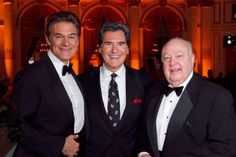 Ernie Anastos legendary New York TV news anchor shares an evening with broadcast luminaries at awards dinner with FOX giant Roger Ailes and America's Dr. Mehmet Oz.