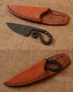 Viking age woman's knife. Made by Henrik Nordholm.  https://www.facebook.com/pages/Henrik-Nordholm/254634504677319