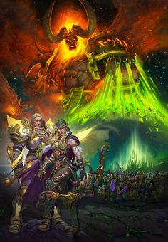 #warcraft #elfe #elf #paladin #sargeras  #alleria #coursevent #windrunner #turalyon