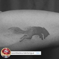 Fox Tattoo Dot Wolf