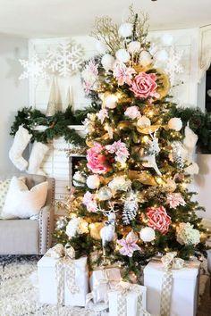 [ CHRISTMAS ] Com decorar un arbre de nadal a l'estil americà / Como decorar un árbol navideño al estilo americano