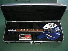 RICKENBACKER 360MD - MIDNIGHT BLUE This guitar broke all the rules of traditional styling when it appeared amid the 'British' sound of the 1960's. This is Rock 'n' Roll royalty.