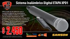 La Púa San Miguel: Sistema Inalámbrico Digital SAMSON ETAPA XPD1 port...