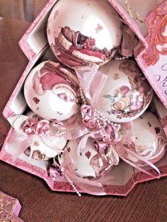 Collectible Victorian Ornaments & Santa's 1998-1999 Sets of 6 - Lot of 2 #DistributedfromDillardsInc