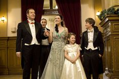 """Check out photos from the Hallmark Channel Original Movie """"A Princess for Christmas,"""" starring Katie McGrath & Sir Roger Moore. Sam Heughan, Hallmark Christmas Movies, Hallmark Movies, Holiday Movies, Christmas Classics, Hallmark Movie Channel, Lifetime Movies, Roger Moore, Katie Mcgrath"""