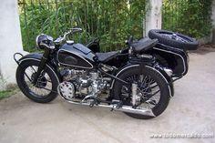 motos antiguas con sidecar - Buscar con Google