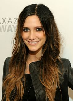 HAIR COLOR OMBRE, my hair color is just like this except the light is on top & the dark is on the bottom