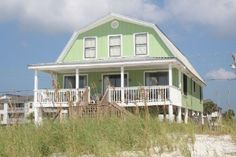 Come Lucky Gulf Shores Gulf Front Vacation House Rental.