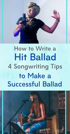 Ballads are not as popular as they used to be, but these songwriting tips will help you write a ballad that will do well in today's market! These tips are straight from Nashville publishers and industry insiders - find songwriting success with these tips! #songwriting #songwritertips #songwritingtips