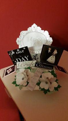 Wedding ... Retangular pop up card