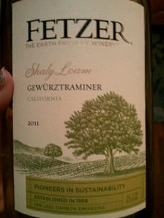 Delicious and inexpensive wine. Fetzer