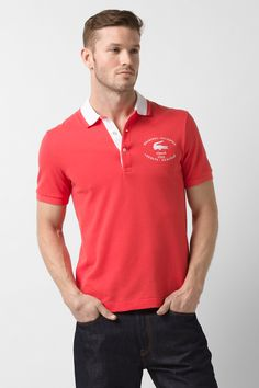 gamesinfomation.com Lacoste Polo Shirt, Short Sleeve Embroidered Croc Pique Polo Shirt coupon| gamesinfomation.com