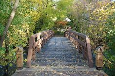 Bridges galore along the Naperville Riverwalk --previous pinner But true the Riverwalk is great to walk