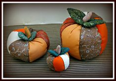 I just love the Fall and all the vivid colors. And, I love pumpkins, scarecrows, Fall leaves, and apple orchards. So, of course, during one of my Fall decorating seasons I decided I needed a trio of large cloth pumpkins for one of my coffee tables..... Love Is Free, Just Love, Night Sky Wallpaper, Scarecrows, Orchards, Fall Leaves, Fall Decorating, My Coffee, Craft Tutorials