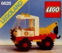 View LEGO instructions for Shell Tow Truck set number 6628 to help you build these LEGO sets