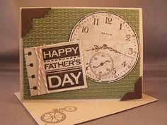 DIY #Father's day card