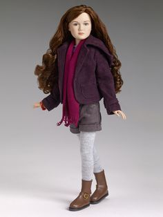 "RENESMEE CARLIE CULLEN - LE of 500 , Mackenzie Foy face sculpt on 12"" child body, original price was $ 159.99"