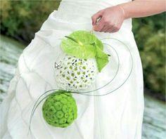 Bouquet de mariée la fleur a ses raisons