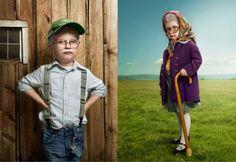 Toddlers as Seniors