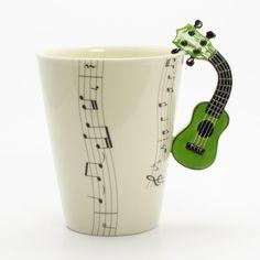 Dos pasiones en una taza: café y música.