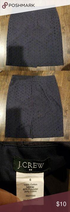 J Crew Cotton Skirt Good condition J. Crew Skirts Asymmetrical