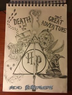 """After all, to the well-trained mind, death is but the next great adventure."" -Albus Dumbledore"