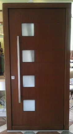 Model 000 Custom Meranti Wood Exterior Door