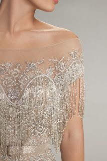 Hamda Al Fahim Spring/Summer 2013 - detail. So sparkly!