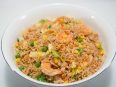 Shrimp Fried Rice from CookingChannelTV.com