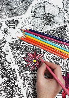 alisaburke: coloring pages now available
