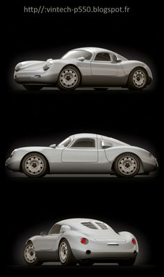 French company previews Porsche 550 tribute