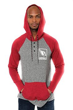 NFL Men's Henley Raglan Team Color Pullover Hoodie Sweatshirt  http://allstarsportsfan.com/product/nfl-mens-henley-raglan-team-color-pullover-hoodie-sweatshirt/?attribute_pa_teamname=arizona-cardinals&attribute_pa_size=x-large  Officially Licensed By The NFL (National Football League) Perfect for running, jogging, sports, exercise, lounging around the house, or everyday use High quality screen print graphics of team logo and name