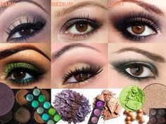 Find the BEST EYESHADOW COLORS for BROWN EYES based on your EYE SHAPE in our article. Do you have small or hooded eyes, round or almond shaped eyes? Learn the every eye shape BASICS and the eye makeup products from mascara to false lashes that you should be using to compliment the right eyeshadow COLORS for your brown eyes!