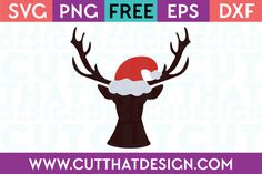 Cut That Design provides a large selection of Free SVG Files for Silhouette, Cricut and other cutting machines. Available in SVG, DXF, EPS and PNG Formats. Cricut Christmas Ideas, Free Christmas Printables, Christmas Svg, Free Svg Cut Files, Santa Hat, Svg Cuts, Svg File, Cutting Files, Free Design