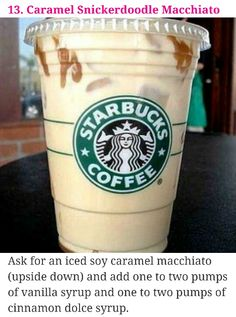 Starbucks secret menu #13