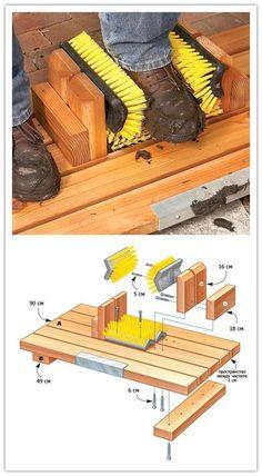 Как сделать приспособление,ящик из дерева для чистки обуви? | Столярный блог.