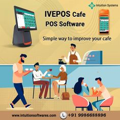 👉 Run your business smoother with IVEPOS. A complete point of sale software for Cafe 💯 Try it for now and discover the key functionalities of the perfect POS system. Point Of Sale, Pos, Intuition, Simple Way, All In One, Improve Yourself, Software, Family Guy, Business
