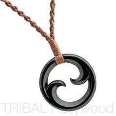 FERNLINGS Double Maori Koru Braided Cord Tribal Surf Necklace meaning The Beginning of a Bond