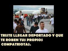 LLEGARON 50 COLOMBIANOS DEPORTADOS DE ESPAÑA Y NO HUBO ESCANDALO.