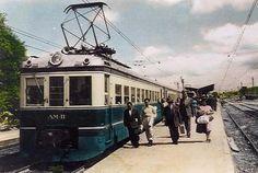 Bonde, Locomotive, Villa, Railings, Trains, Arrow, Parking Lot, Antique Photos, Desktop